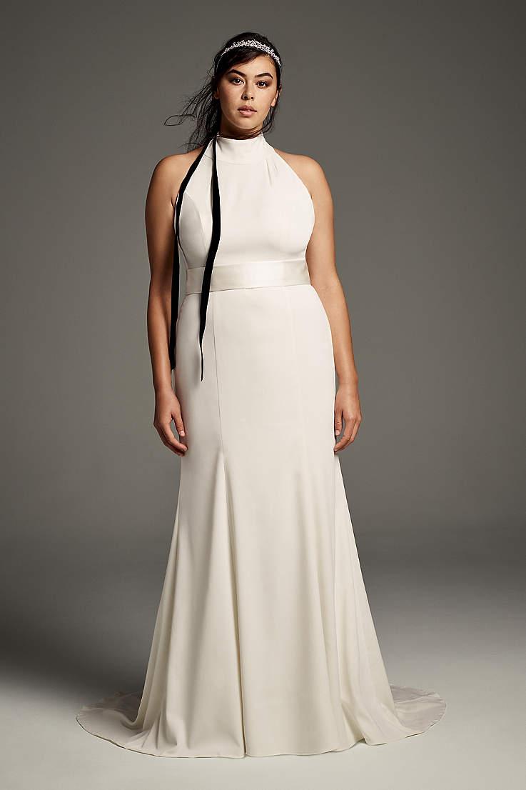 e4d3aae3f8 Long Sheath Wedding Dress - White by Vera Wang