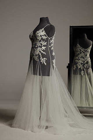 White By Vera Wang Wedding Dresses Gowns David S Bridal,Average Cost Of Wedding Dress Canada