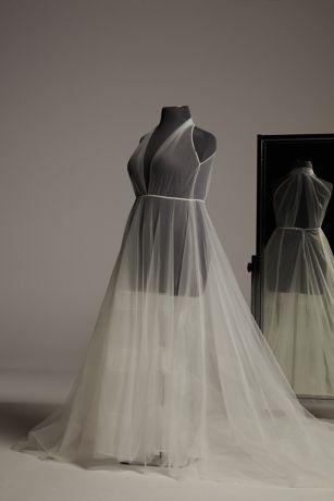 Long Ballgown Wedding Dress - White by Vera Wang