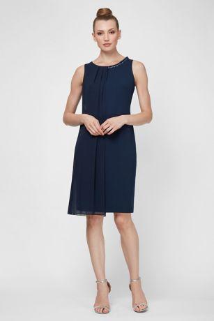 Short Sheath Tank Dress - SL Fashions