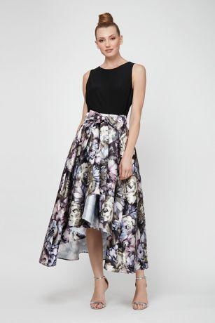 High Low Ballgown Tank Dress - SL Fashions