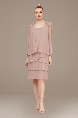Short Jacket Dress - SL Fashions
