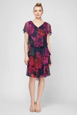 Short Short Sleeves Dress - SL Fashions