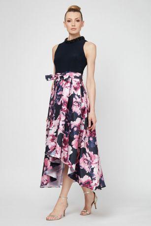 Tea Length A-Line Tank Dress - SL Fashions