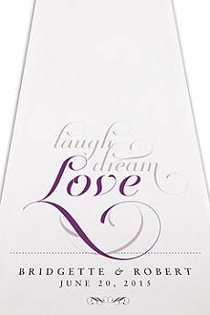 Personalized Expressions Aisle Runner
