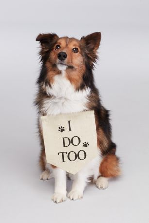 I Do Too Canvas Dog Sign