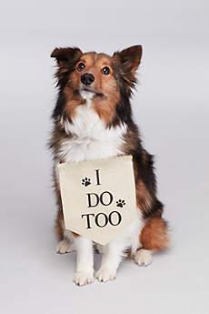 I Do Too Canvas Dog Sign