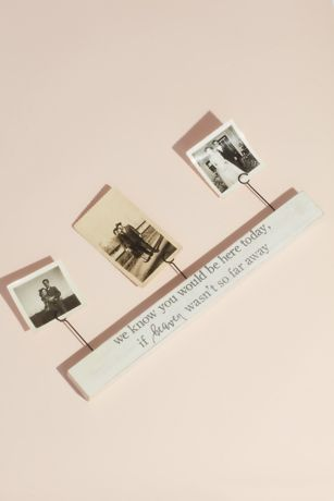 Memorial Message Picture Holder