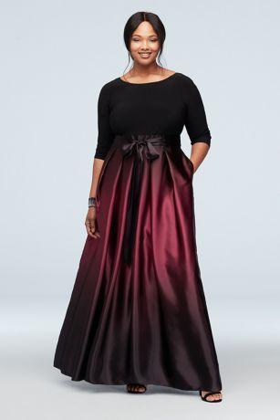 Long Ballgown Wedding Dress - SL Fashions
