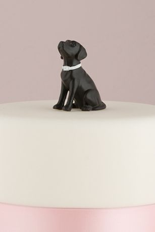 Dog Figurine Cake Topper
