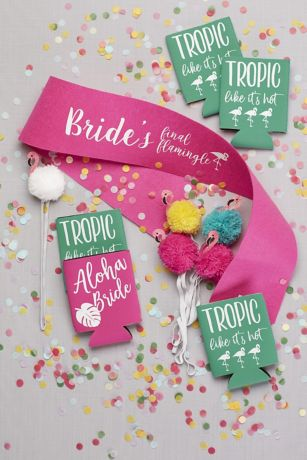 Tropical Bachelorette Party Kit