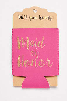 Maid of Honor Drink Sleeve