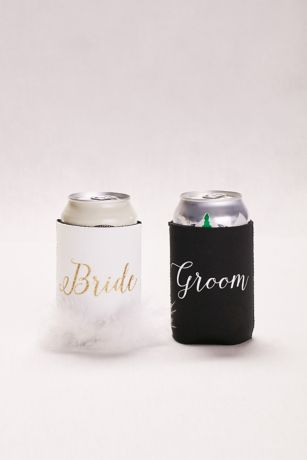 Bride and Groom Drink Sleeves