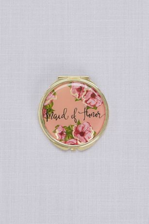 Maid of Honor Compact Mirror