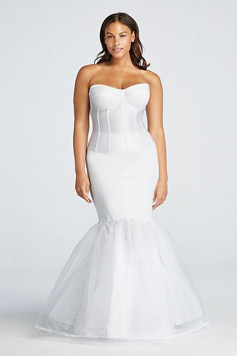 Plus Size A-Line Silhouette Slip | David\'s Bridal