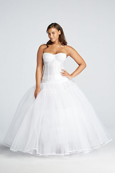 Extreme Ball Gown Hoop Plus Size Slip | David\'s Bridal