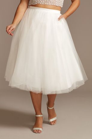 Short Separates Wedding Dress - David's Bridal