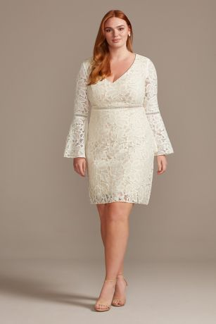 Short Sheath Long Sleeves Dress - DB Studio