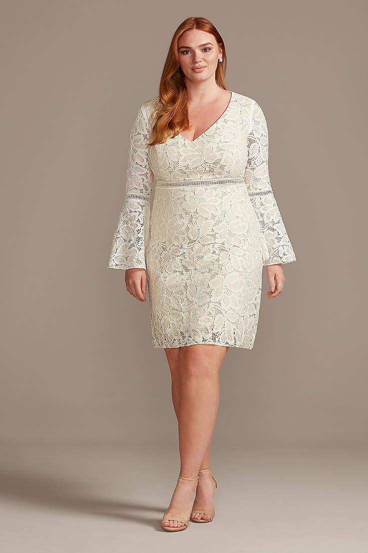 Destination Beach Wedding Dresses David S Bridal,Best Spanx For Wedding Dress Plus Size