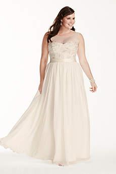 Long Sheath Tank Dress - David's Bridal Collection