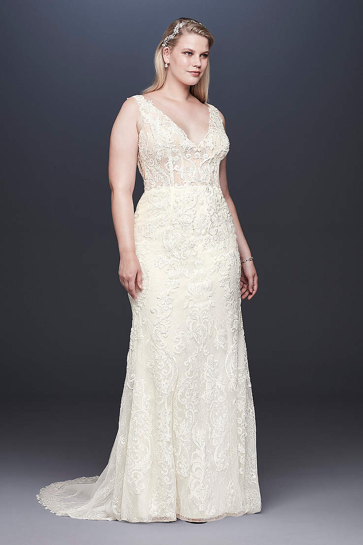 9a9063d370e55 Plus Size Wedding Dresses & Bridal Gowns | David's Bridal