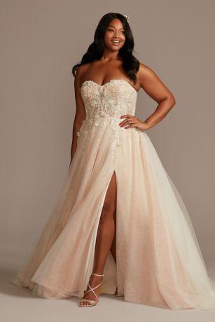 Long A-Line Wedding Dress - Galina Signature