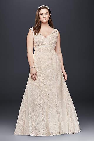 Long Mermaid Trumpet Formal Wedding Dress
