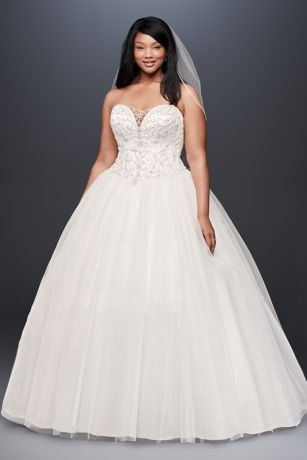 Long Ballgown Wedding Dress - David's Bridal Collection