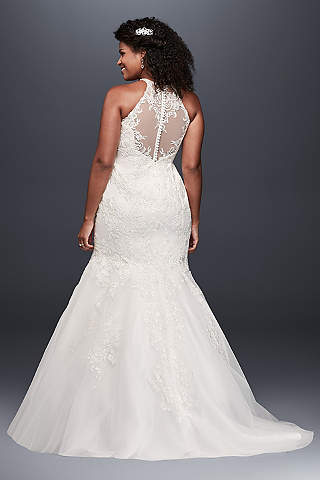 Extended Plus Size Wedding Dresses Davids Bridal