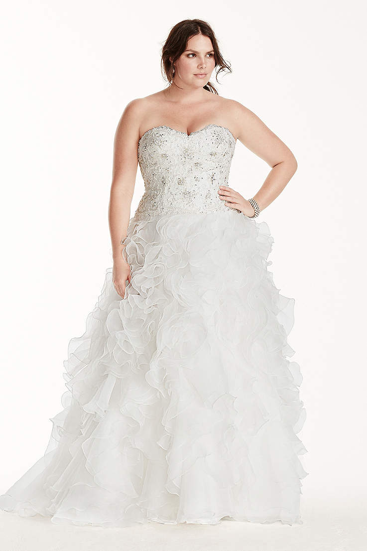 Long Ballgown Wedding Dress - Jewel ef1dc3420604
