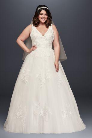 Long Ballgown Wedding Dress - David's Bridal Collection
