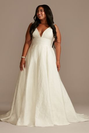 Long Ballgown Wedding Dress - David's Bridal