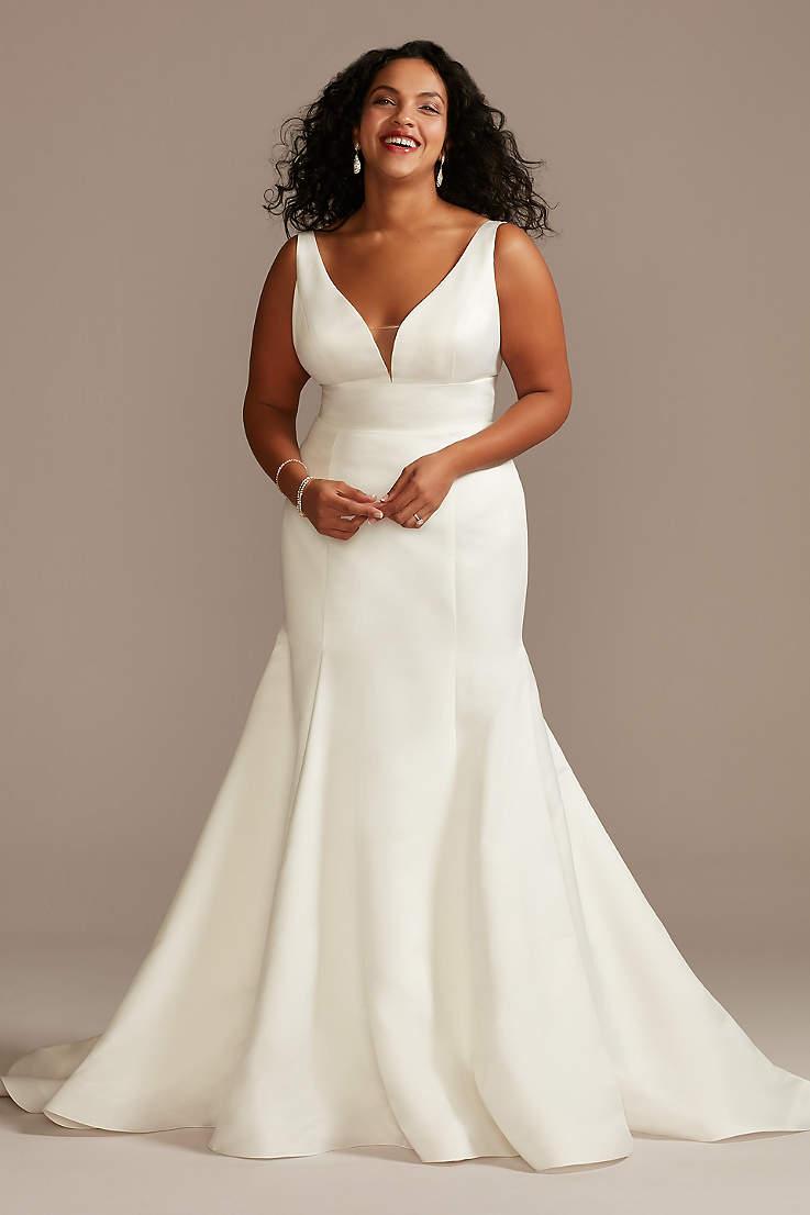 Plus Size Wedding Dresses Bridal Gowns David S Bridal