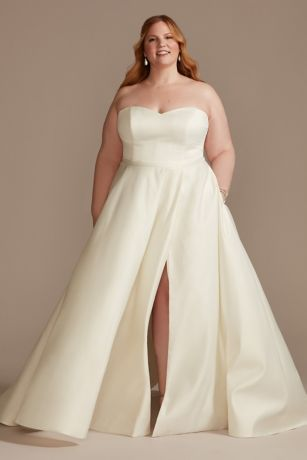 Long Ballgown Wedding Dress - DB Studio