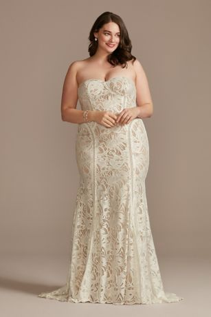 Long Mermaid / Trumpet Wedding Dress - David's Bridal