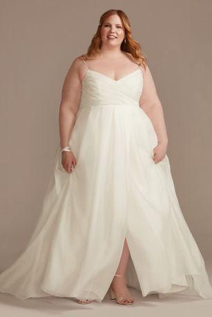 Long A-Line Wedding Dress - David's Bridal