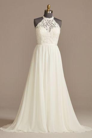 Long A-Line Wedding Dress - DB Studio