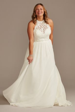 Long A-Line Wedding Dress - David's Bridal