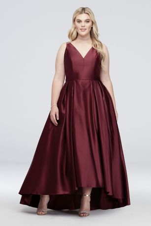 Long Ballgown Tank Dress -