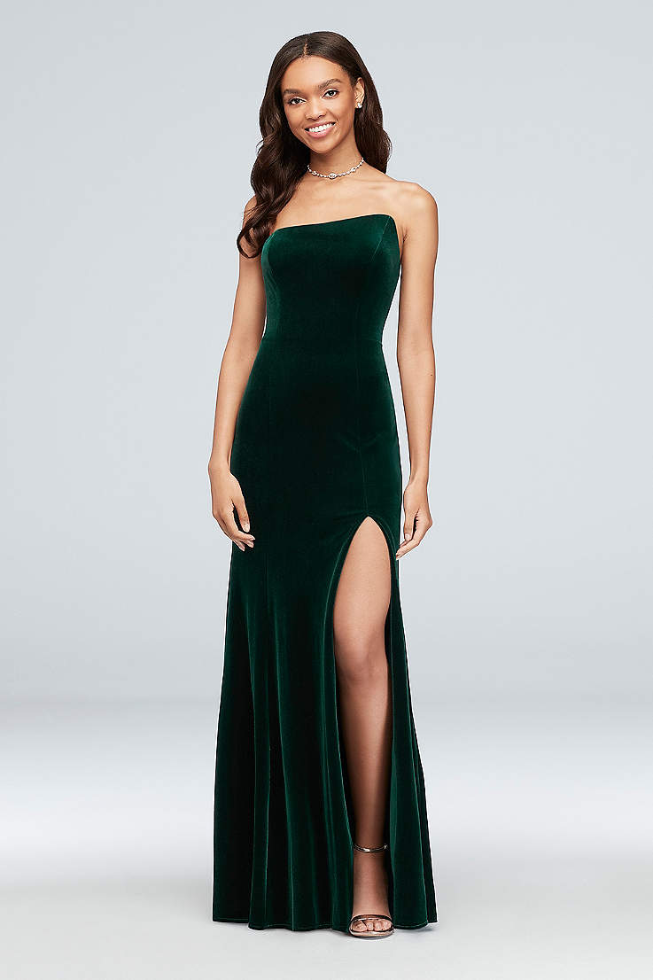 7aa47a9d Sexy Prom Dresses - Tight, Fitted Bodycon Gowns | David's Bridal