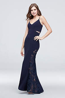 Long Sheath Spaghetti Strap Formal Dresses Dress - Betsy and Adam