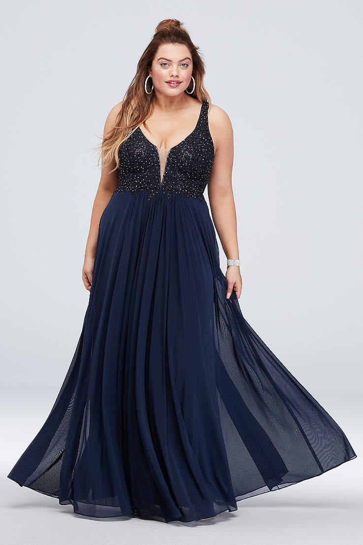 a4508f41 Plus Size Formal Dresses & Evening Gowns | David's Bridal