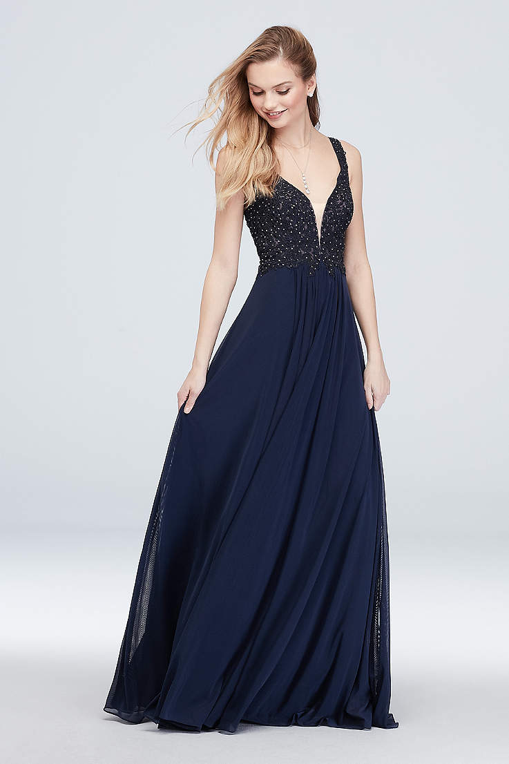 2765ac3f1eb Long Prom Dresses and Gowns for 2019 in All Colors