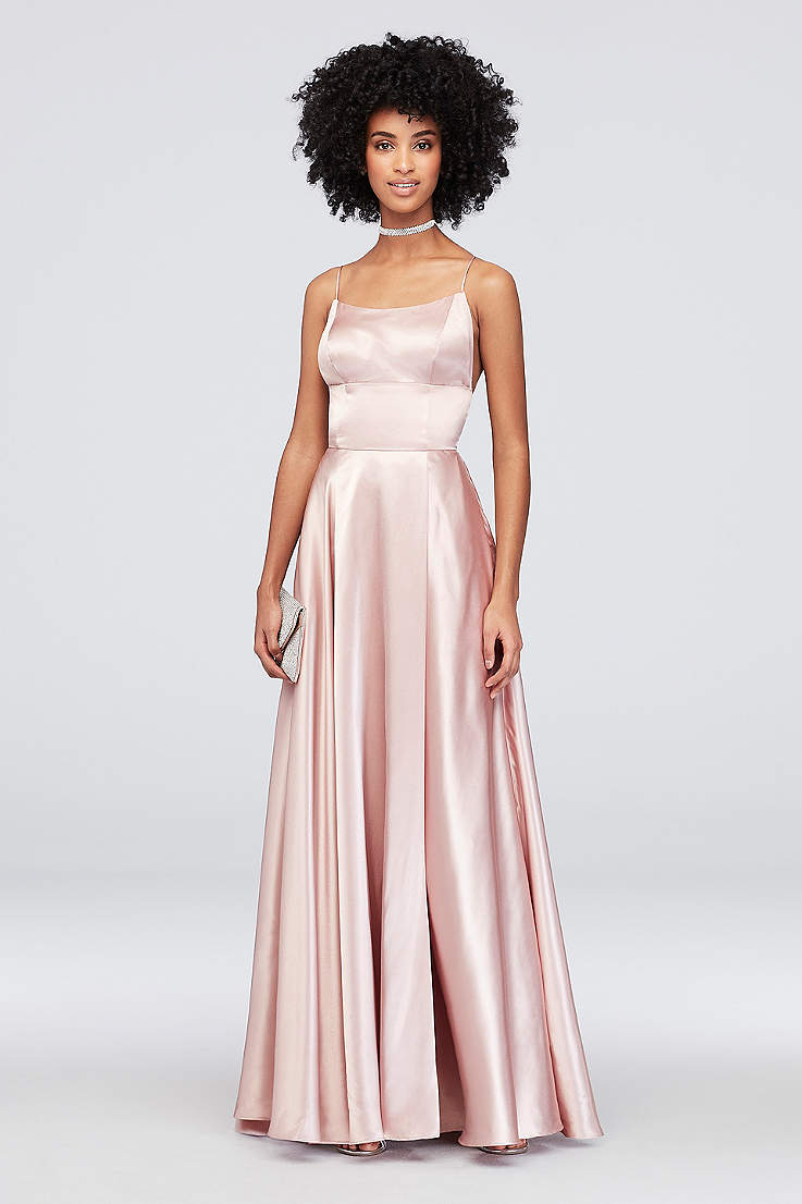 24cc8afd4ad39 Long Prom Dresses and Gowns for 2019 in All Colors | David's Bridal