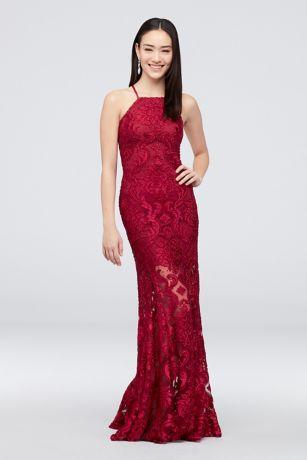 da640ddc617d Betsy   Adam Dresses  Lace   Illusion Styles