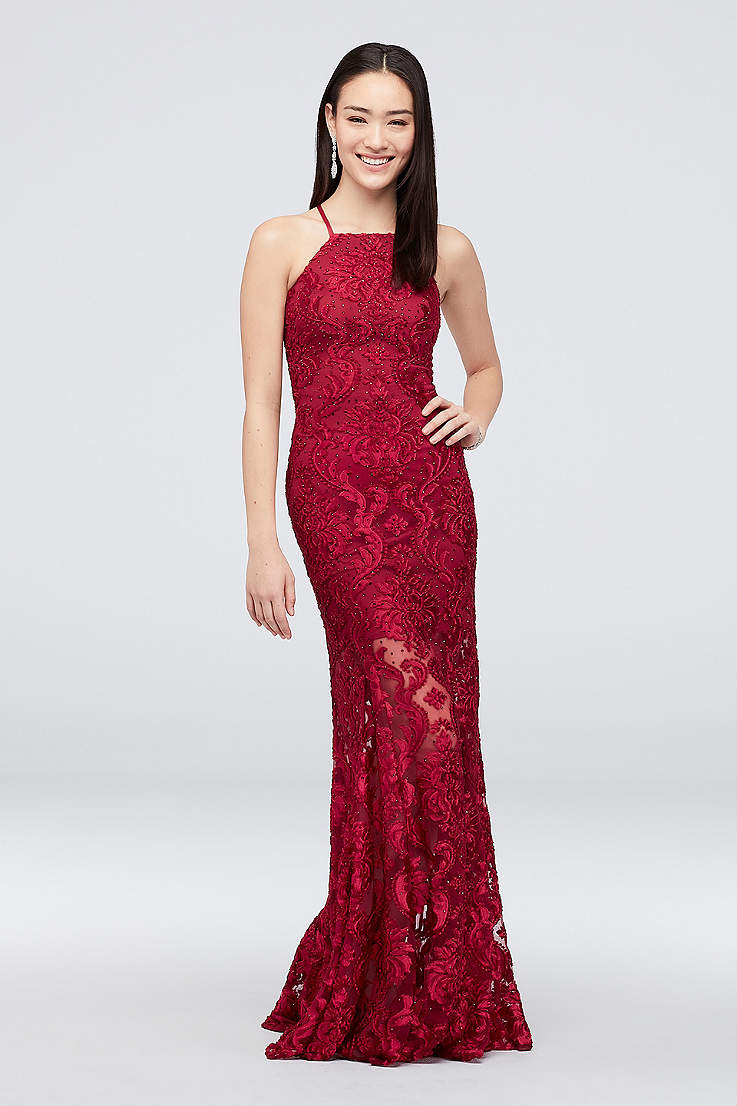 60c54c490e2cb Formal Dresses Long Evening Gowns David S Bridal. Short Black And Red ...