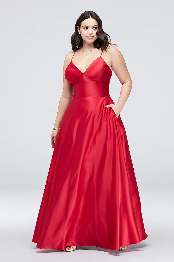 3a3fa632584e Plus Size Prom Dresses and Homecoming Gowns