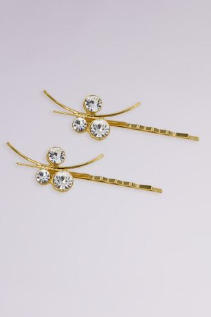Swarovski Crystal Grecian Inspired Bobby Pin Set