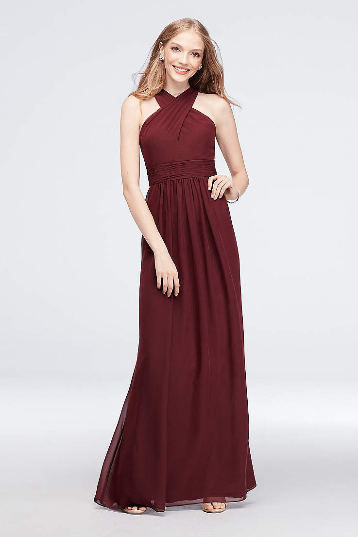 f431bb7eb2 Soft   Flowy Reverie Long Bridesmaid Dress