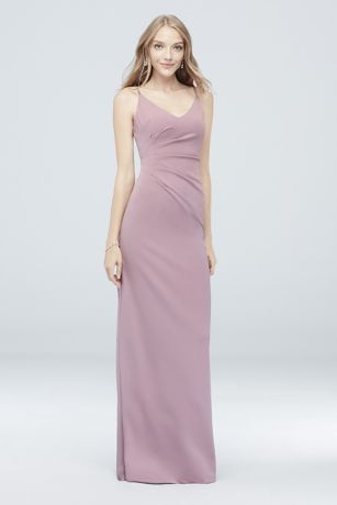 Long Sheath Spaghetti Strap Dress - DB Studio